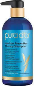 PURA D'OR Hair Loss Prevention Therapy Shampoo Thinning Hair