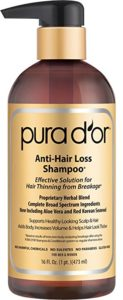 PURA D'OR Anti-Hair Loss Shampoo (Gold Label)